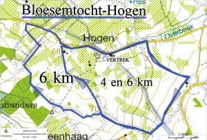 30-03 Hogern  4 en  6 km